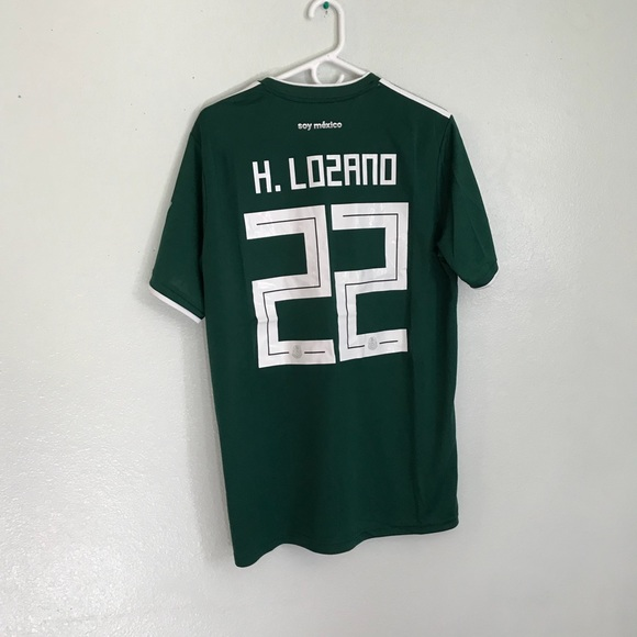 info for aeee8 3d6d6 Mexico soccer jersey chucky lozano NWT